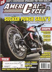 Fatboy American Cycle Magazine Article