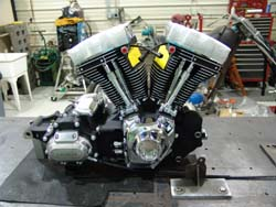Bill G's 110ci TCB waiting for it's frame