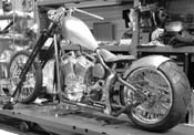 Work in Progress - David A's Hardcore Softail