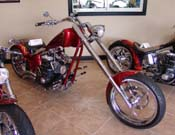 Harley Chopper w/Suicide Shift