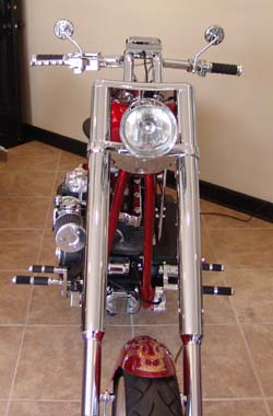 Customized Harley Softail Standard