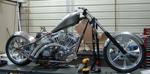 Lance's CFL build by Chopper City USA