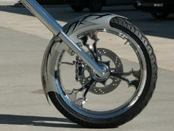Customized Harley FXST