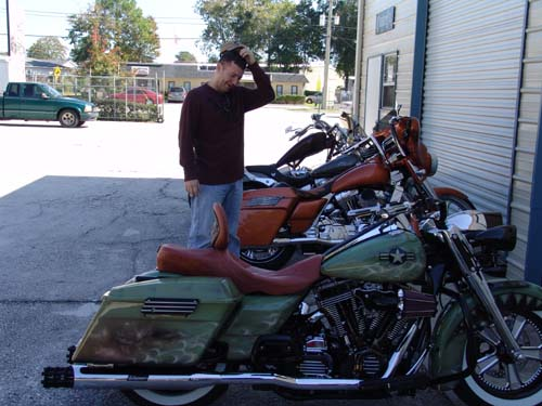 Scott's Road King Vintage Military Aircraft Influenced 1st Look