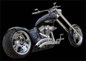 Wicked Chopper Motorcycle
