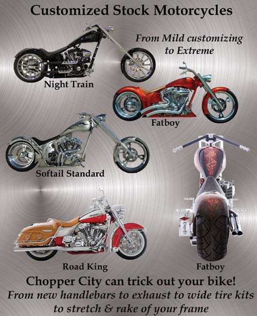 Chopper City USA Customized Motorcycles