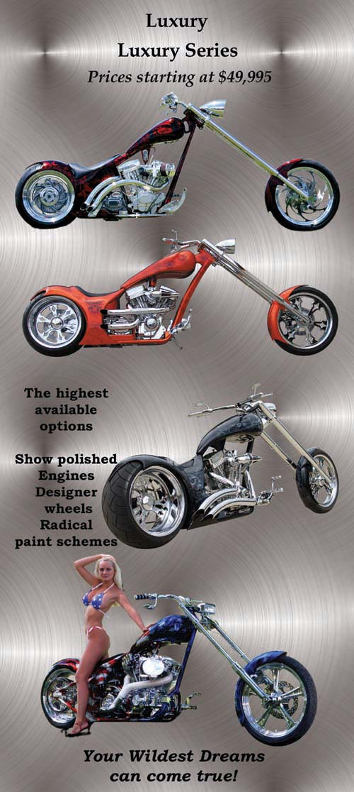 Chopper City USA Luxury Motorcycle Series